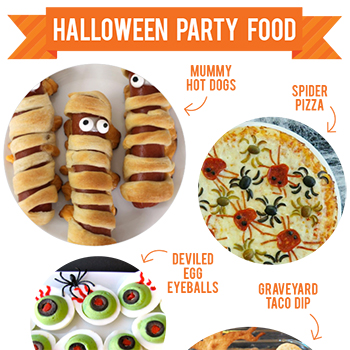 Fun Halloween party food!