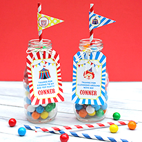 Easy and awesome circus party favors