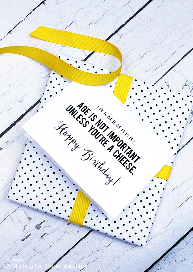 Funny, FREE printable birthday cards! LOVE!