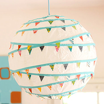 Dress up basic paper lanterns