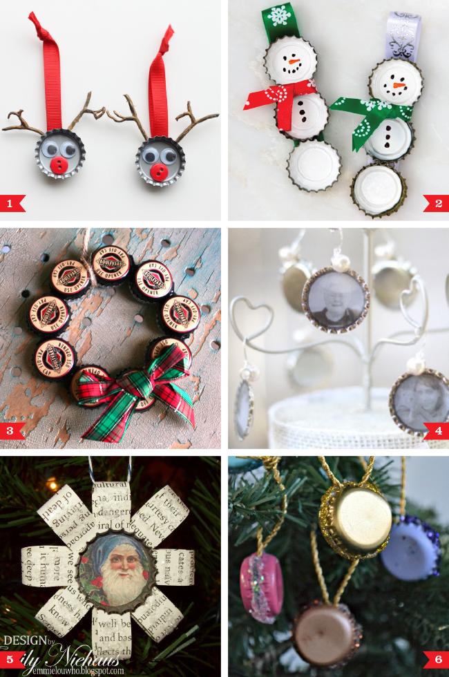Diy bottle cap christmas ornaments chickabug diy bottle cap christmas ornaments solutioingenieria Gallery