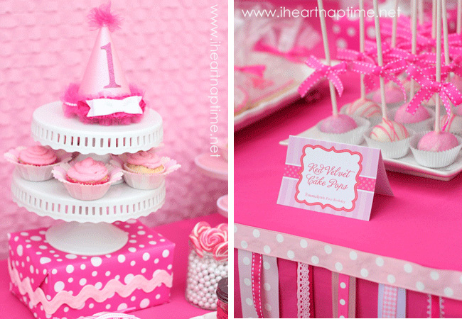 Pretty in Pink Birthday Party
