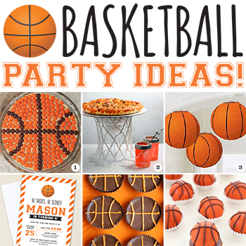 SLAM DUNK #basketball party ideas!! #basketballparty