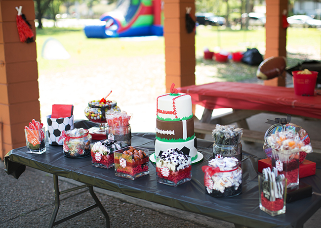 All Star Sports Theme Birthday Party So Many Great Ideas For A