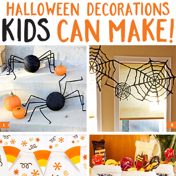 halloween decorations kids can make chickabug - Halloween Decorations For Kids To Make