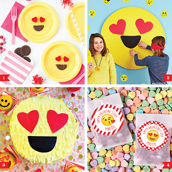 Valentine's Day Emojis. Super cute emoji themed ideas for Valentine's Day!