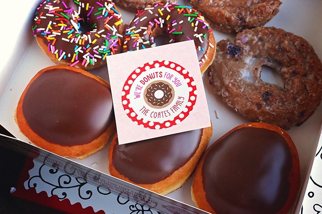 """""""I'm Donuts For You!"""" Super cute Valentine's Day gifts"""