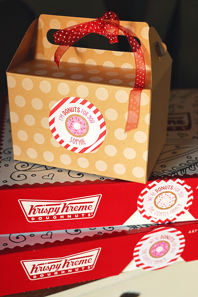 """I'm Donuts For You!"" Super cute Valentine's Day gifts"
