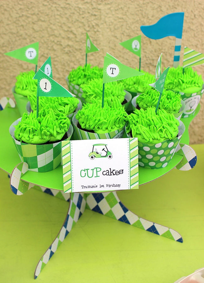 Golf birthday party! Printables from Chickabug