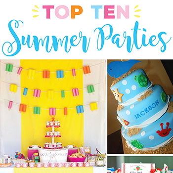 Top 10 Summer Birthday Party Themes. The inspiration you need this summer!!
