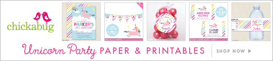 Unicorn Party Paper Goods & Printables