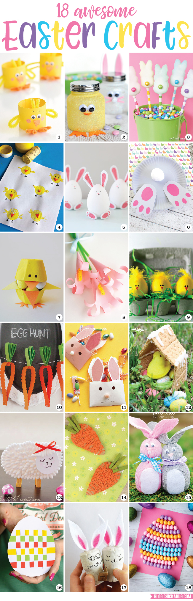 18 Awesome Easter Crafts