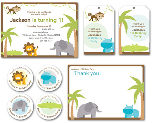 View The Whole Theme Here Safari Party Paper Goods And Printables