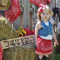 Country Western birthday party