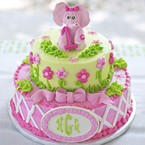 Lilly Pulitzer elephant theme birthday party