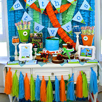 Insect theme birthday party