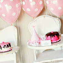 Sweet Shoppe theme 1st birthday party
