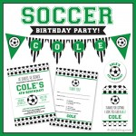 Soccer birthday party! Paper goods & printables from Chickabug. #soccerparty