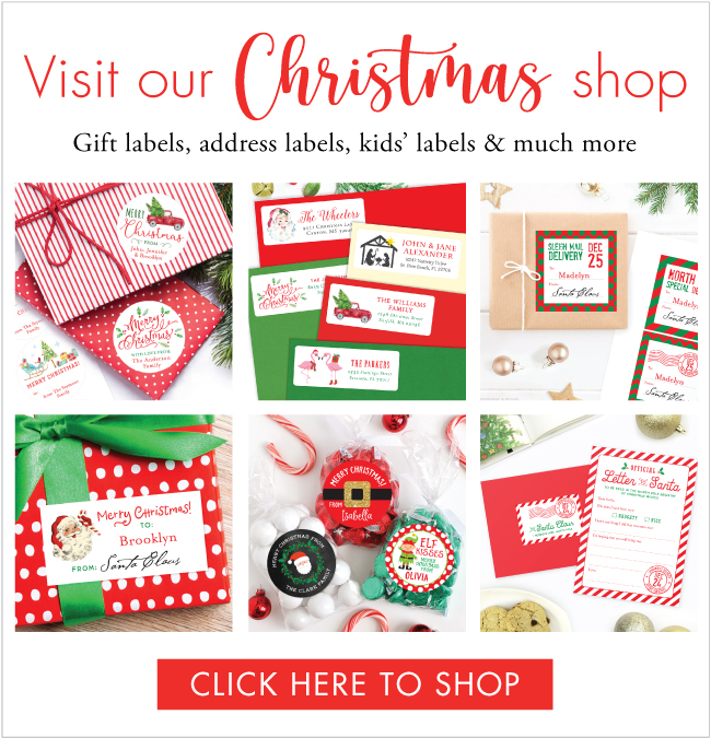 Everything pretty & personalized you need for Christmas! At Chickabug.com