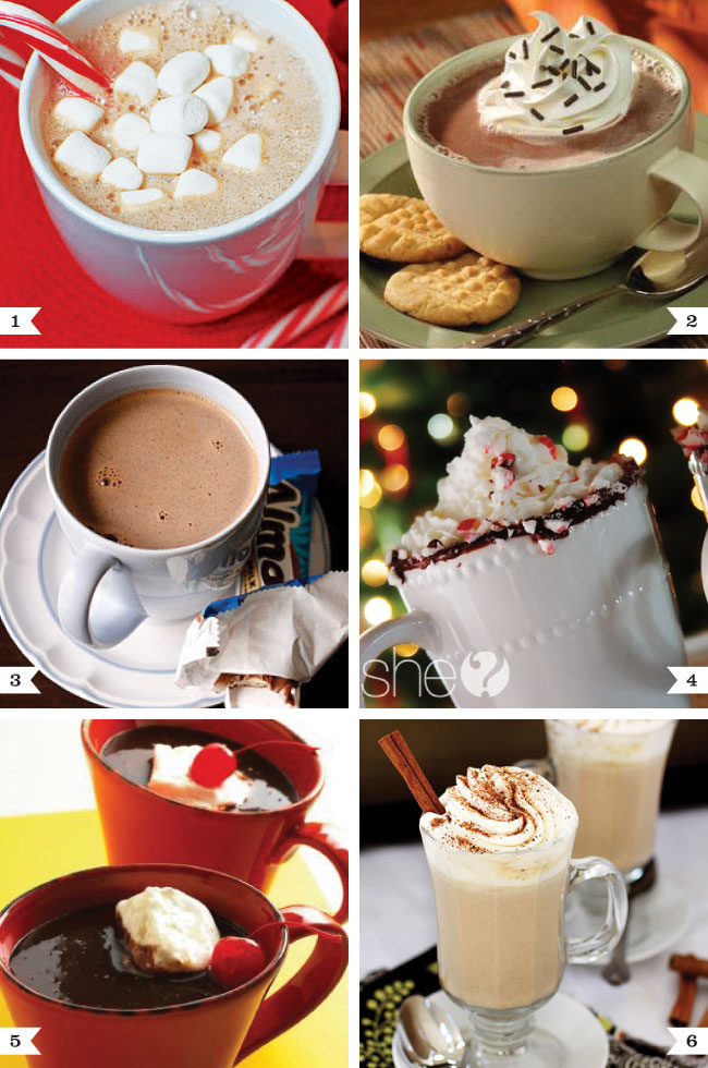 Super yummy hot chocolate recipes!