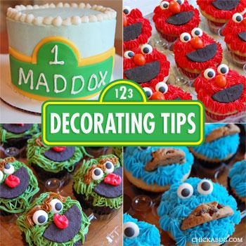 Cake Decorating Tips Blog : Decorating tips for a Sesame Street smash cake and ...