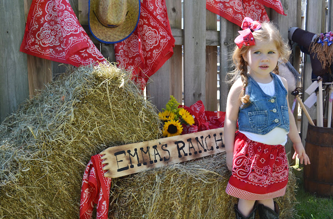 Country western cowgirl party!