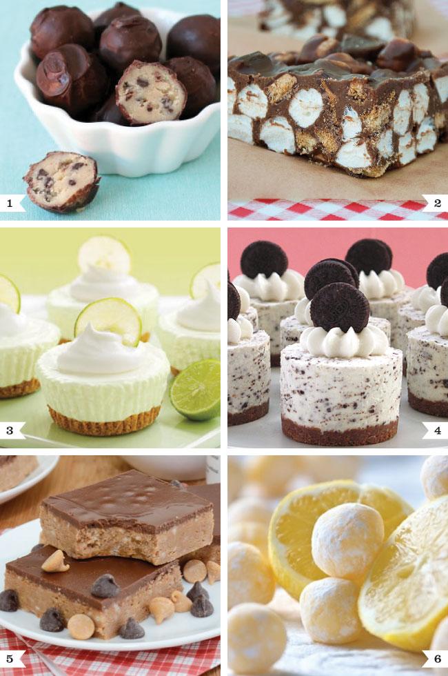 No-bake dessert recipes. Yum!