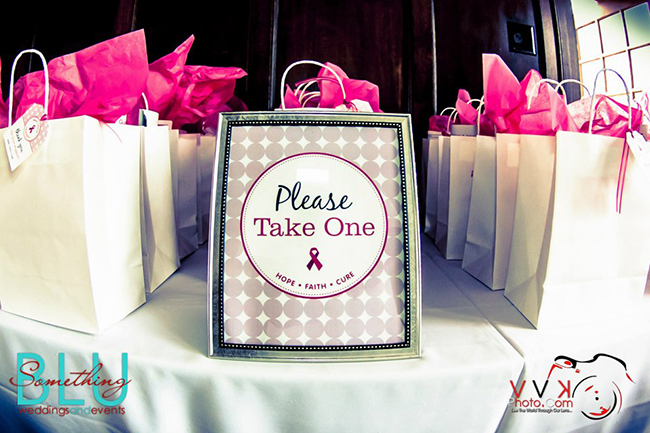Breast cancer charity event with free printables