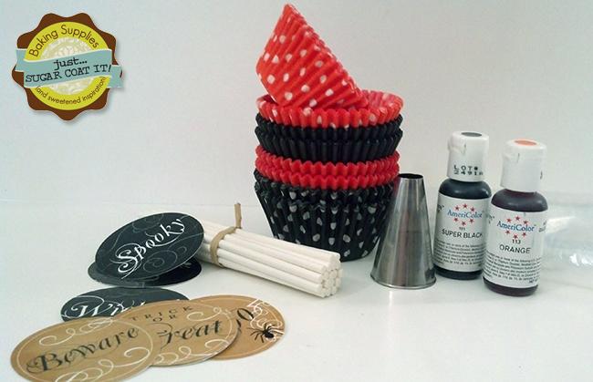 Cupcake decorating kit from Just Sugar Coat It