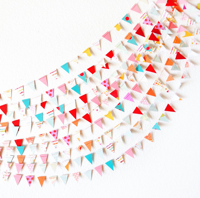Paper Garlands by MaraMay.etsy.com