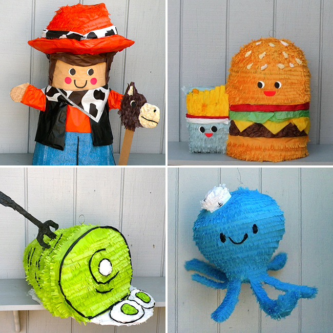 Handmade piñatas by Whack! Piñateria - whack.etsy.com