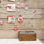 Rustic yarn Christmas tree
