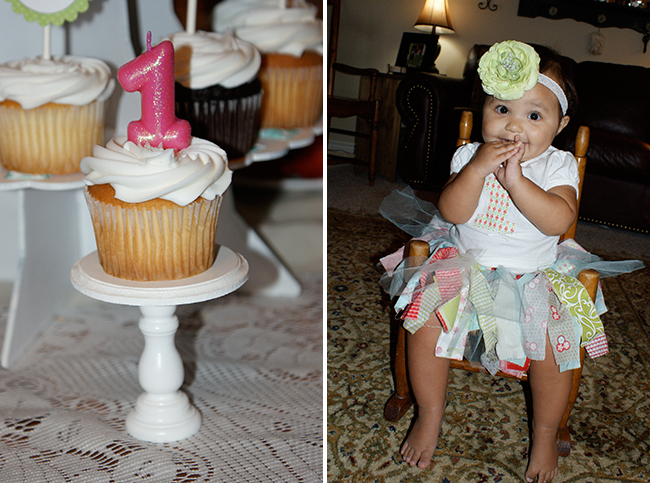Shabby chic themed birthday party