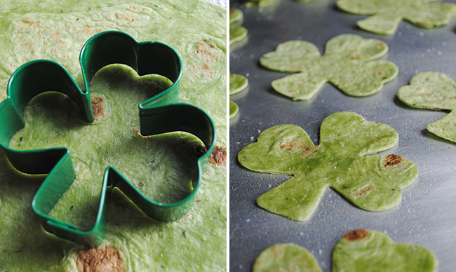 How to make shamrock chips