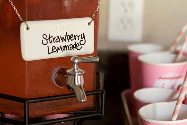 Strawberry lemonade!