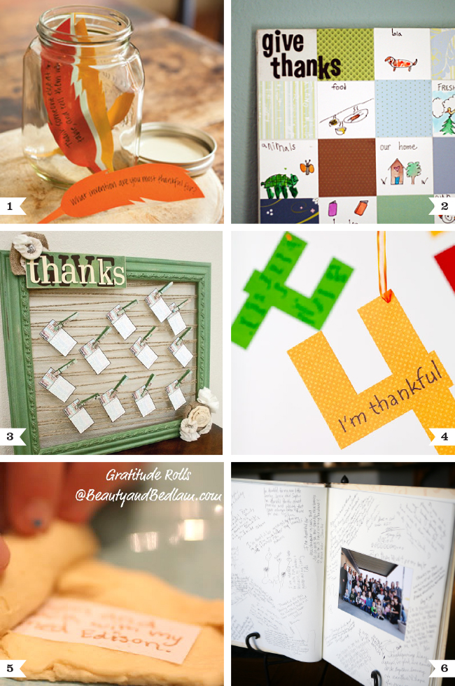 Thanksgiving ideas: Ways to share your thankfulness