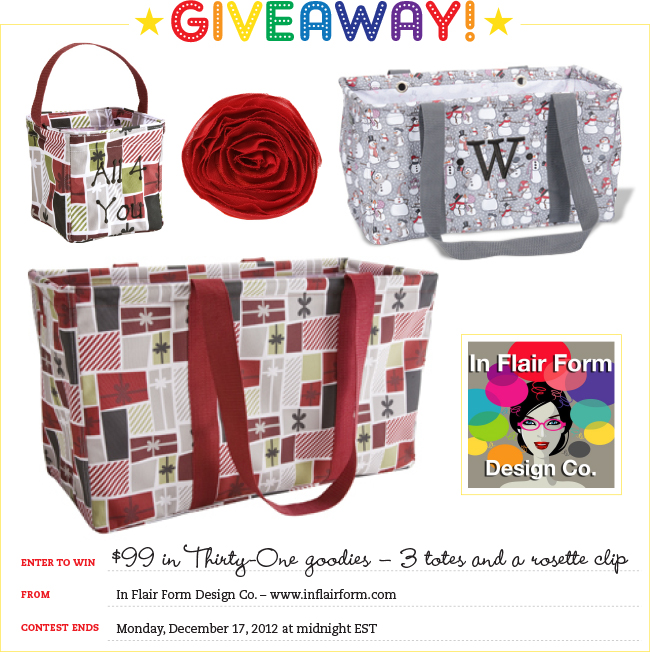 Giveaway! $99 in totes and accessories from In Flair Form Design Co.