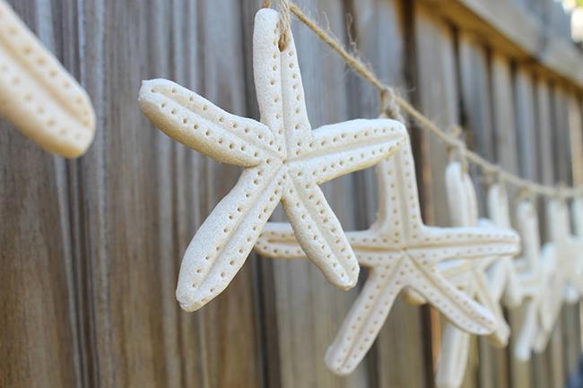 How to make a salt dough starfish