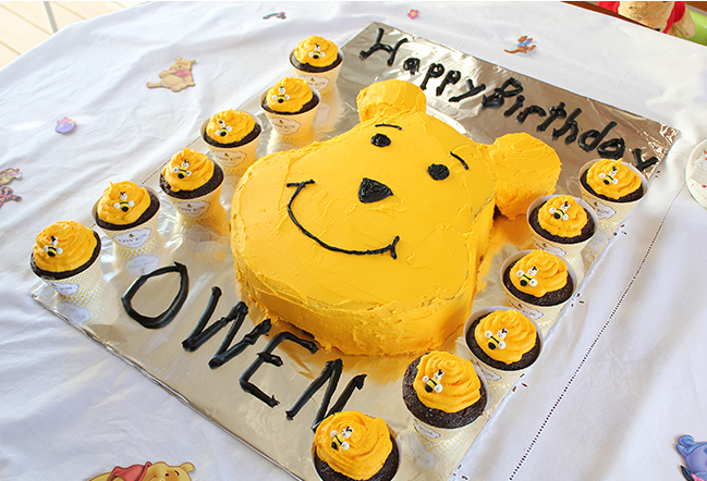 Super Winnie The Pooh Party Owen Is 1 Chickabug Funny Birthday Cards Online Alyptdamsfinfo