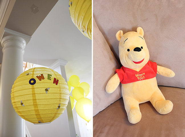Winnie The Pooh First Birthday Party Decorations