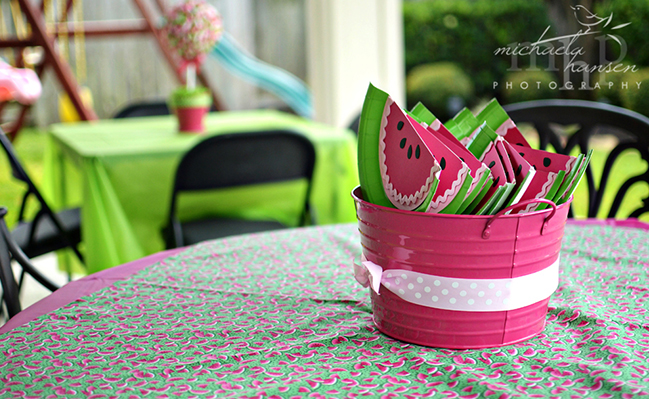 Watermelon party decorations