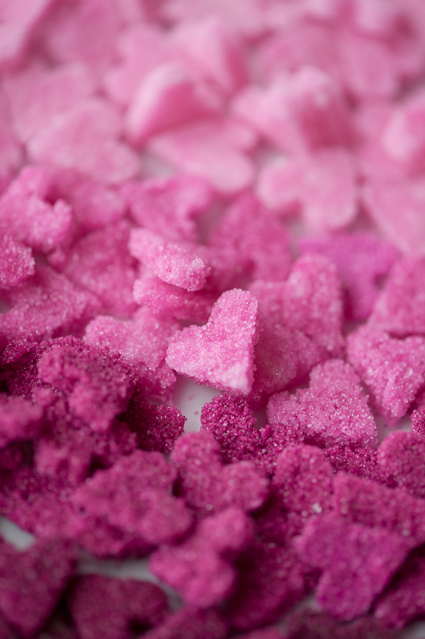 How to make sugar hearts - lovely for a Valentine's Day breakfast, or as a little gift for your sweetie!