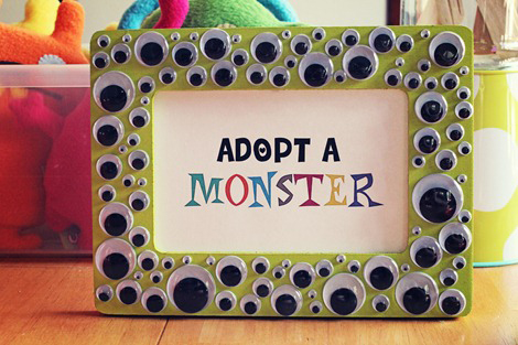 Monster party - adopt a monster!