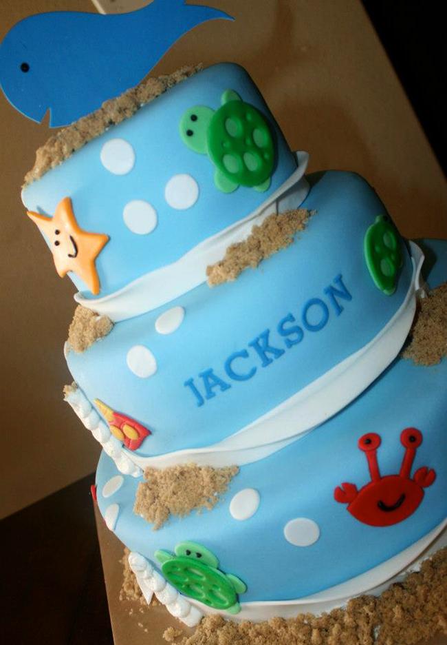 Surprising Under The Sea Birthday Cake Chickabug Funny Birthday Cards Online Eattedamsfinfo