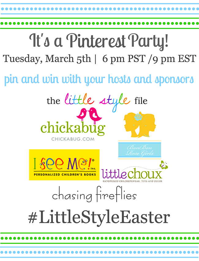 It's a Pinterest Party! Pin and win!