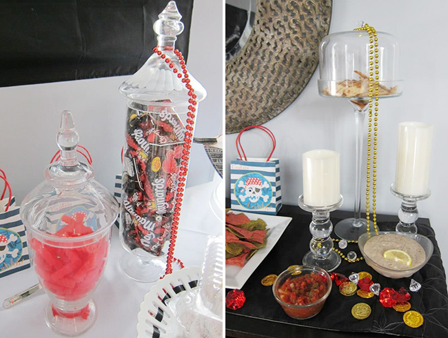 Pirate theme birthday party decorations