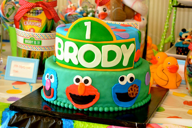 Marvelous Sesame Street Party Brody Is 1 Chickabug Personalised Birthday Cards Petedlily Jamesorg