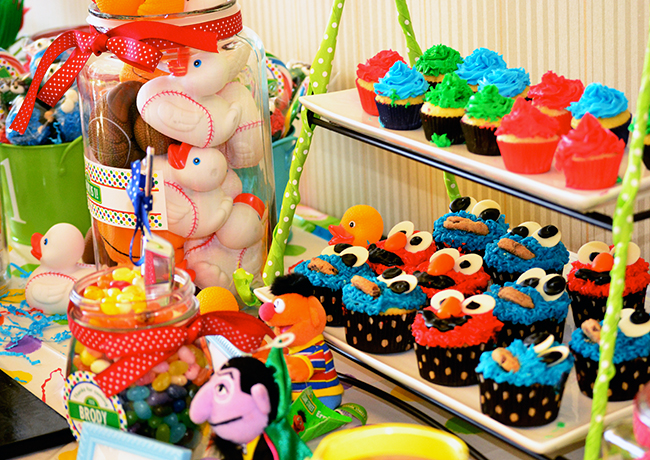 Sesame Street 1st Birthday Party