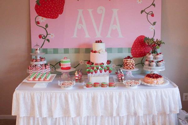 Super Strawberry Party Ava Is 2 Chickabug Personalised Birthday Cards Veneteletsinfo