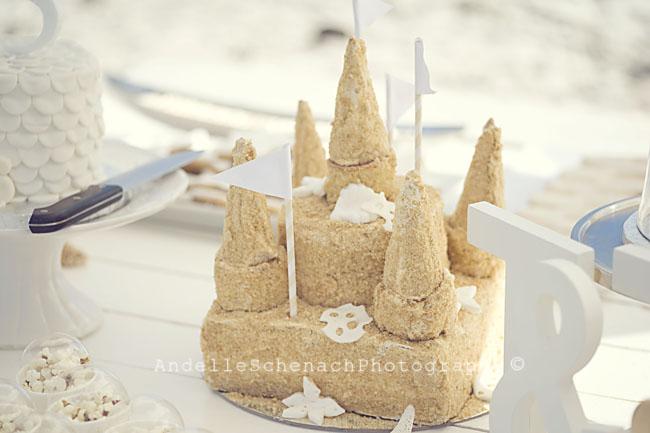 Gorgeous beach birthday cake!
